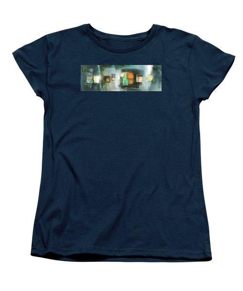 Square91.5 Women's T-Shirt (Standard Cut) by Behzad Sohrabi