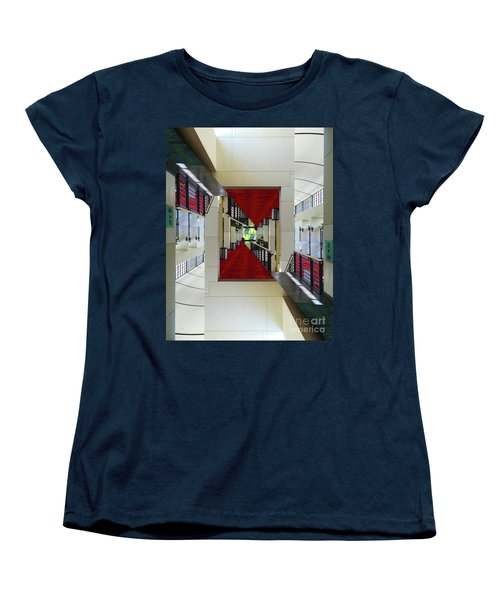 Women's T-Shirt (Standard Cut) featuring the photograph Squares by Brian Jones