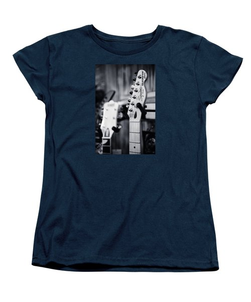 Women's T-Shirt (Standard Cut) featuring the photograph Squier Telecaster by Andy Crawford