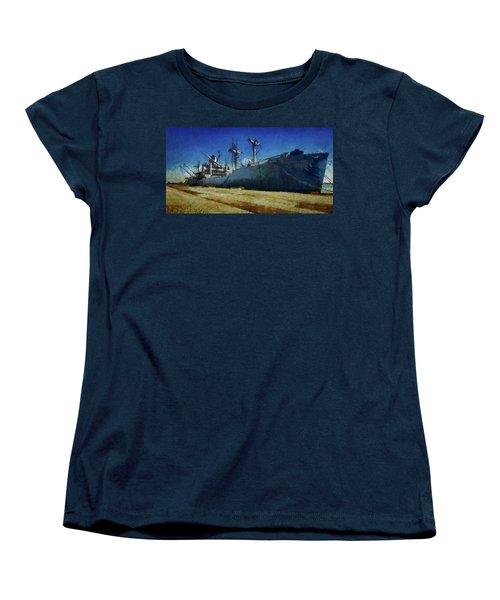 Ss Lane Victory Women's T-Shirt (Standard Cut) by Joseph Hollingsworth