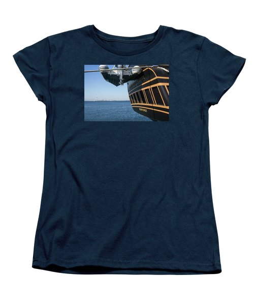 Ssv Oliver Hazard Perry Close Up Women's T-Shirt (Standard Cut) by Nancy De Flon