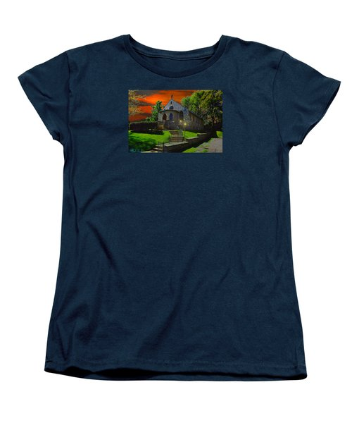 Women's T-Shirt (Standard Cut) featuring the photograph St. Anne's Chapel by Michael Rucker