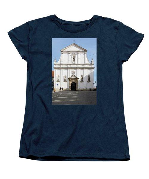 St. Catherine's Church Women's T-Shirt (Standard Cut) by Steven Richman