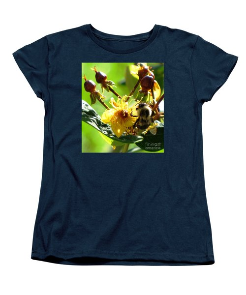 Women's T-Shirt (Standard Cut) featuring the photograph St. John's Wort by Melissa Stoudt