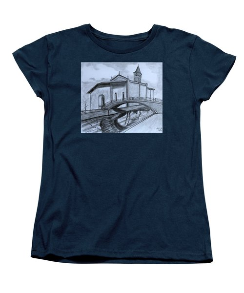 St. Jules Cathedral  Women's T-Shirt (Standard Cut) by Tony Clark