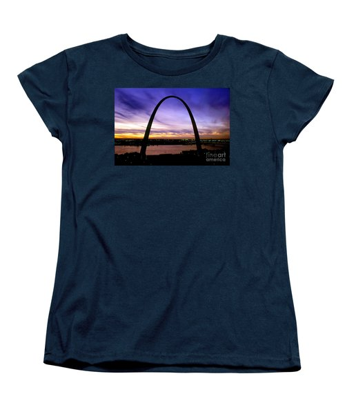 St. Louis, Missouri Women's T-Shirt (Standard Cut) by Wernher Krutein