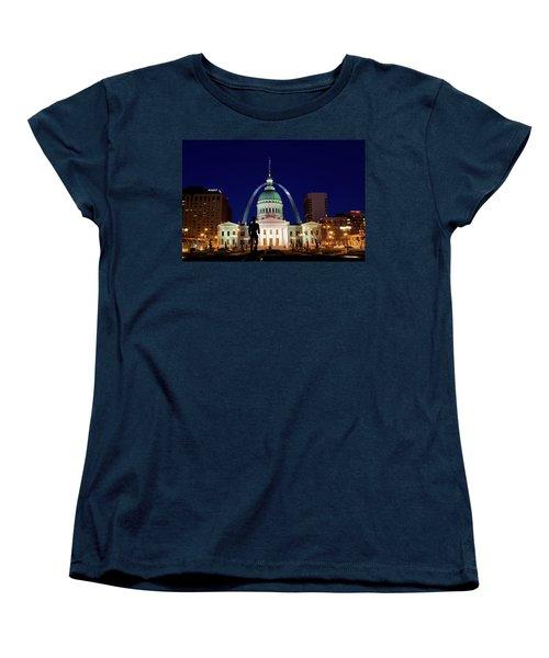 Women's T-Shirt (Standard Cut) featuring the photograph St. Louis by Steve Stuller