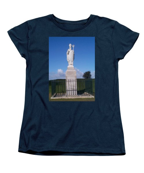 Women's T-Shirt (Standard Cut) featuring the photograph St Patrick by Charles Kraus