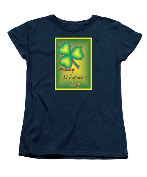 St. Patrick's Day Women's T-Shirt (Standard Cut) by Sherril Porter