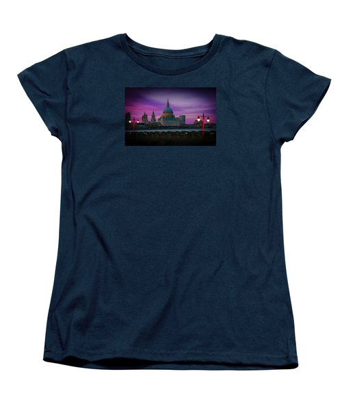 St Pauls Dusk Women's T-Shirt (Standard Cut) by David French