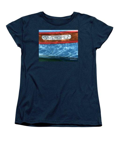 St. Tropez Women's T-Shirt (Standard Cut)