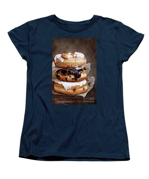 Stacked Donuts Women's T-Shirt (Standard Cut)