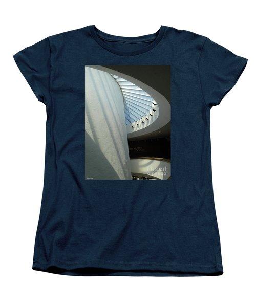 Stairway Abstract Women's T-Shirt (Standard Cut) by Lyric Lucas