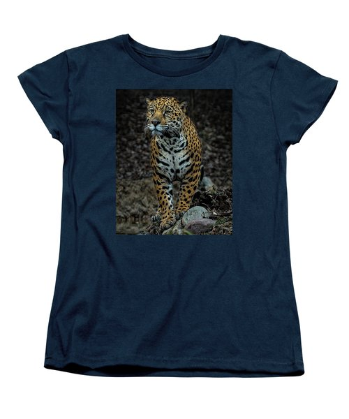 Women's T-Shirt (Standard Cut) featuring the photograph Stalking by Phil Abrams