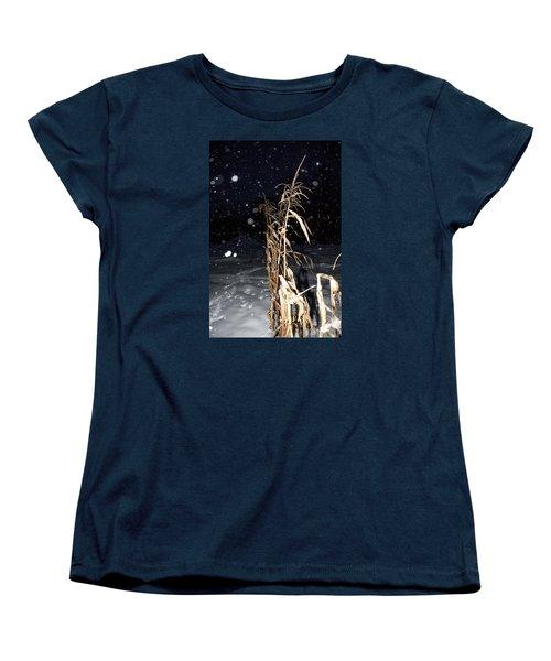 Stand Tall Women's T-Shirt (Standard Cut) by Annette Berglund