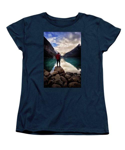 Standing Alone Women's T-Shirt (Standard Cut) by Nicki Frates