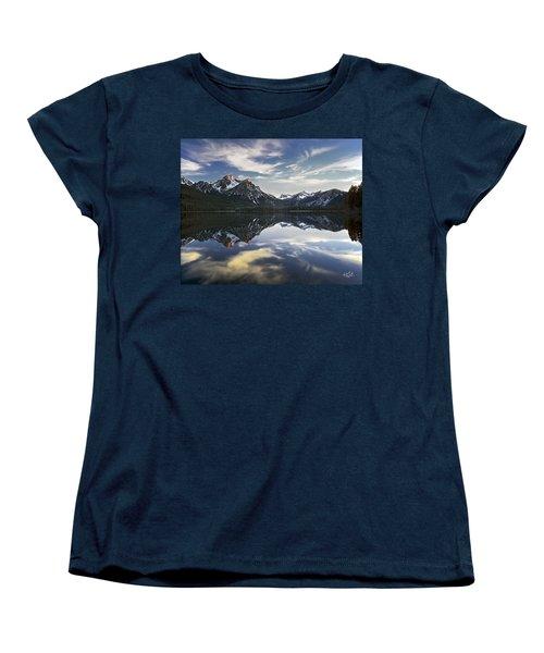 Stanley Lake Women's T-Shirt (Standard Cut) by Leland D Howard