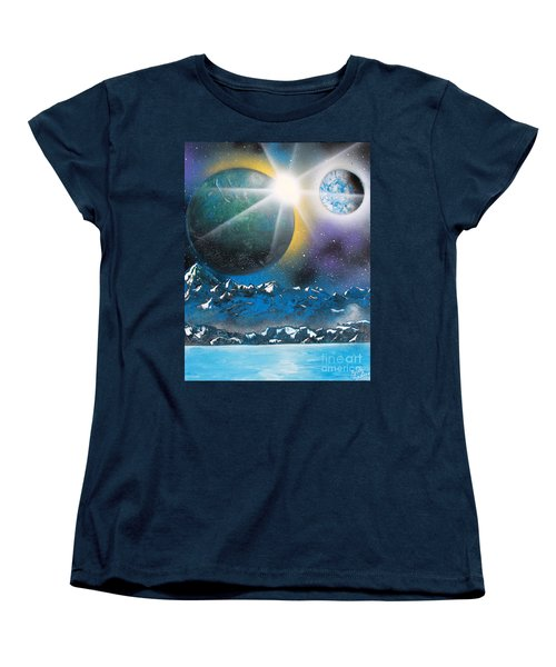 Star Burst Women's T-Shirt (Standard Cut)