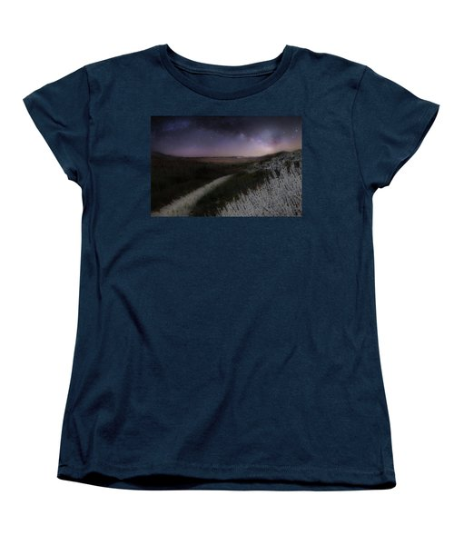 Women's T-Shirt (Standard Cut) featuring the photograph Star Flowers by Bill Wakeley