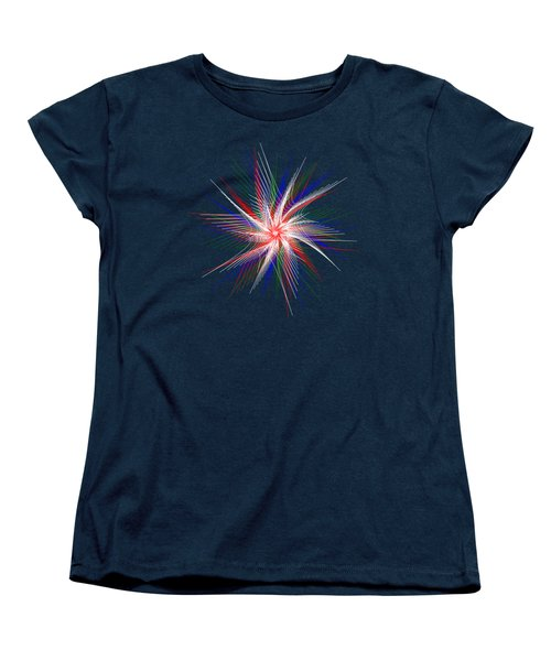 Star In Motion By Kaye Menner Women's T-Shirt (Standard Cut) by Kaye Menner