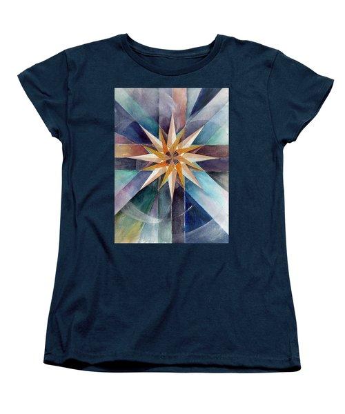 Star Mandala 2  Women's T-Shirt (Standard Cut)