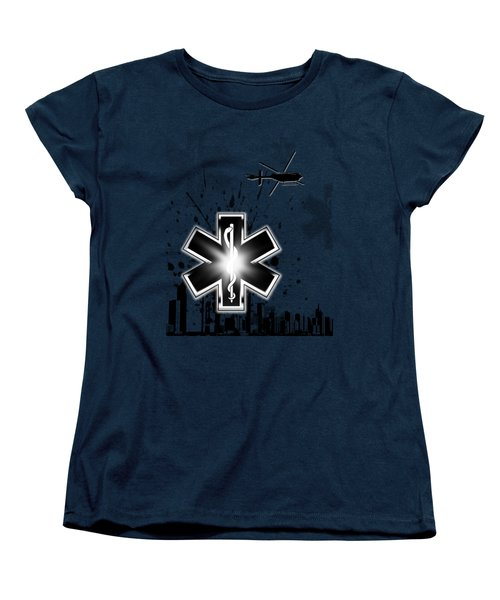 Star Of Life Graphic Women's T-Shirt (Standard Cut) by Melissa Smith
