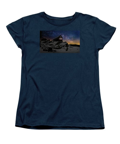 Women's T-Shirt (Standard Cut) featuring the photograph Star Spangled Banner by Bill Wakeley