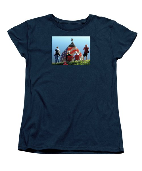 Star Spangled Morning Women's T-Shirt (Standard Cut) by Tom Riggs