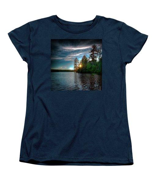Star Sunset Women's T-Shirt (Standard Cut) by David Patterson