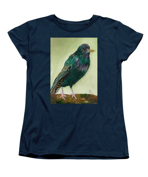 Starling Women's T-Shirt (Standard Cut) by Carole Robins