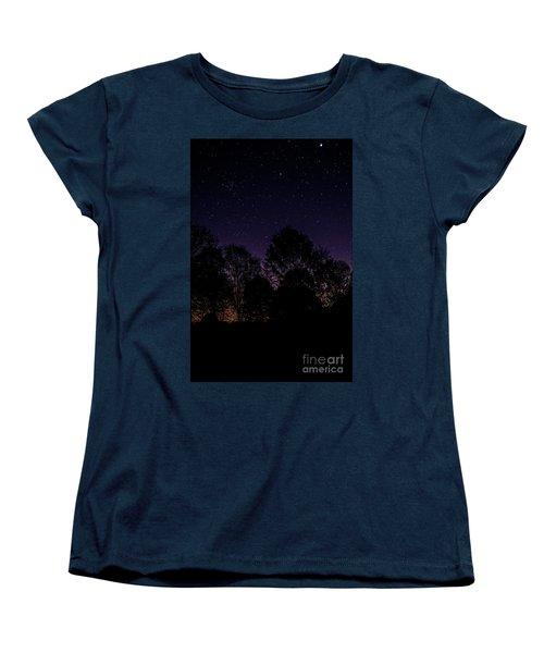Women's T-Shirt (Standard Cut) featuring the photograph Stars by Brian Jones