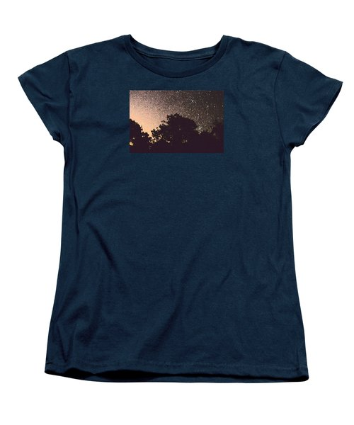Women's T-Shirt (Standard Cut) featuring the photograph Stars Of La Vernia by Carolina Liechtenstein