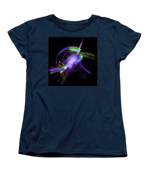Starship Saxophone Women's T-Shirt (Standard Cut) by DC Langer