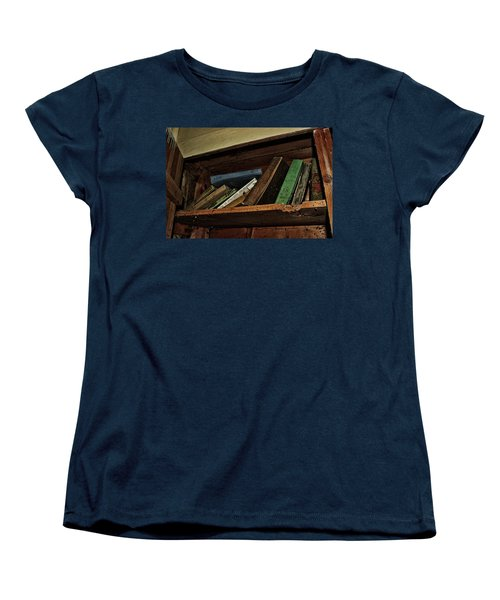 Women's T-Shirt (Standard Cut) featuring the photograph Stay A While And Listen by Ryan Crouse