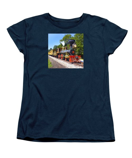 Steaming Into History Women's T-Shirt (Standard Cut) by Paul W Faust -  Impressions of Light