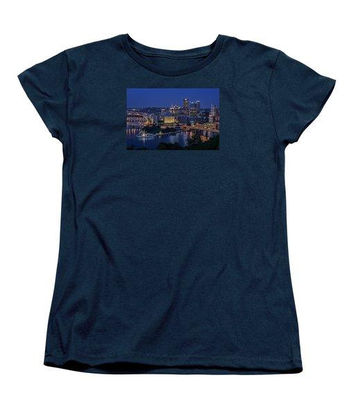 Steel City Glow Women's T-Shirt (Standard Cut)