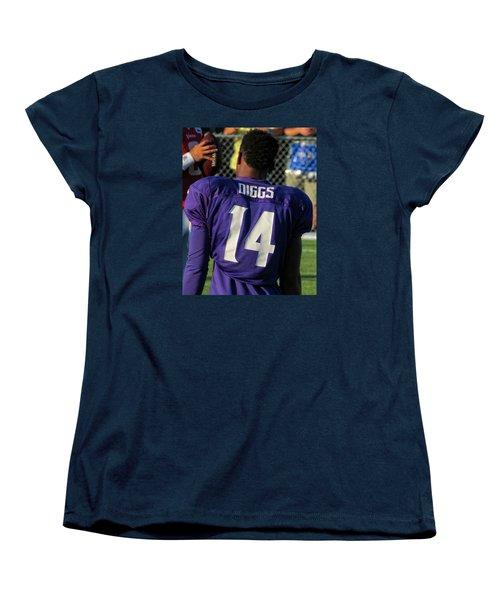 Stefon Diggs Women's T-Shirt (Standard Cut) by Kyle West