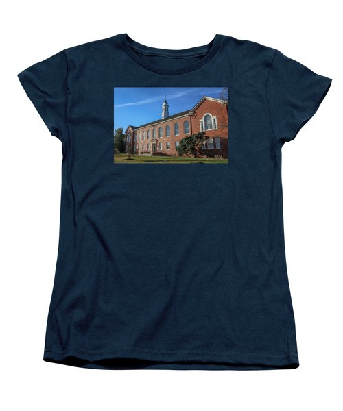 Women's T-Shirt (Standard Cut) featuring the photograph Stephens Hall by Gregory Daley  PPSA