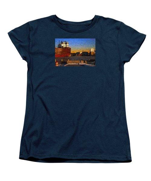 Stewart J. Cort Women's T-Shirt (Standard Cut) by David Blank