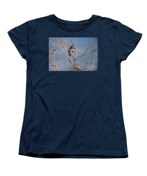 Women's T-Shirt (Standard Cut) featuring the photograph Stick Acceptance by David Bearden
