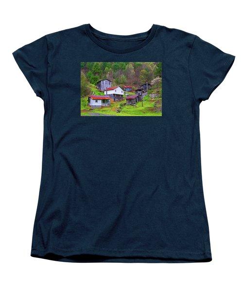 Stike Holler Women's T-Shirt (Standard Cut) by Dale R Carlson