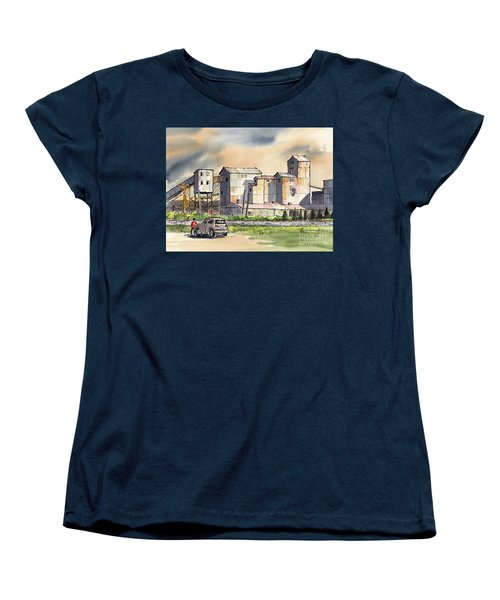 Women's T-Shirt (Standard Cut) featuring the painting Still In Business by Terry Banderas