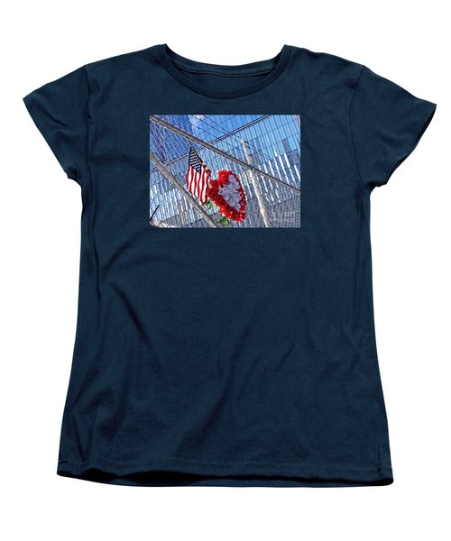 Women's T-Shirt (Standard Cut) featuring the photograph Still Remembered  by Sarah Loft