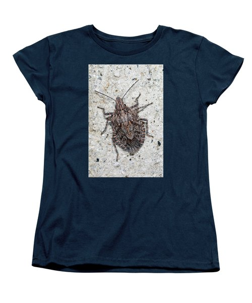 Women's T-Shirt (Standard Cut) featuring the photograph Stink Bug by Breck Bartholomew