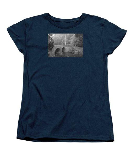 Women's T-Shirt (Standard Cut) featuring the photograph Stone Bridge by Heidi Poulin