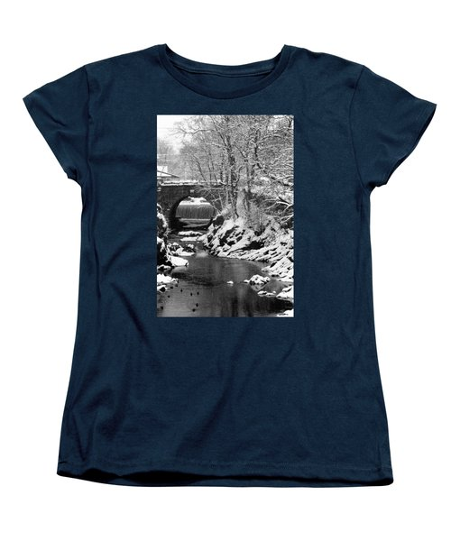 Stone-bridge Women's T-Shirt (Standard Cut) by John Scates
