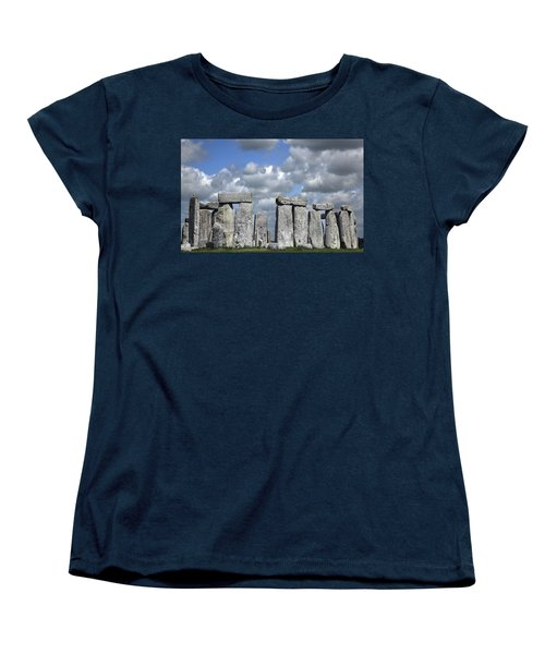 Stonehenge Women's T-Shirt (Standard Cut) by Elvira Butler