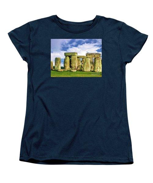 Stonehenge Women's T-Shirt (Standard Cut) by Judi Bagwell