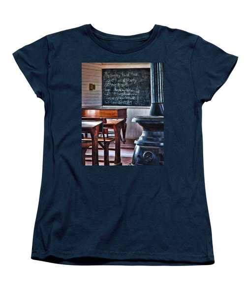 Stoney Point School Room Women's T-Shirt (Standard Cut)
