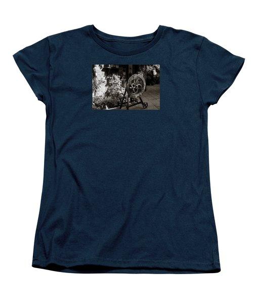 Store Front Women's T-Shirt (Standard Cut) by Deborah Scannell
